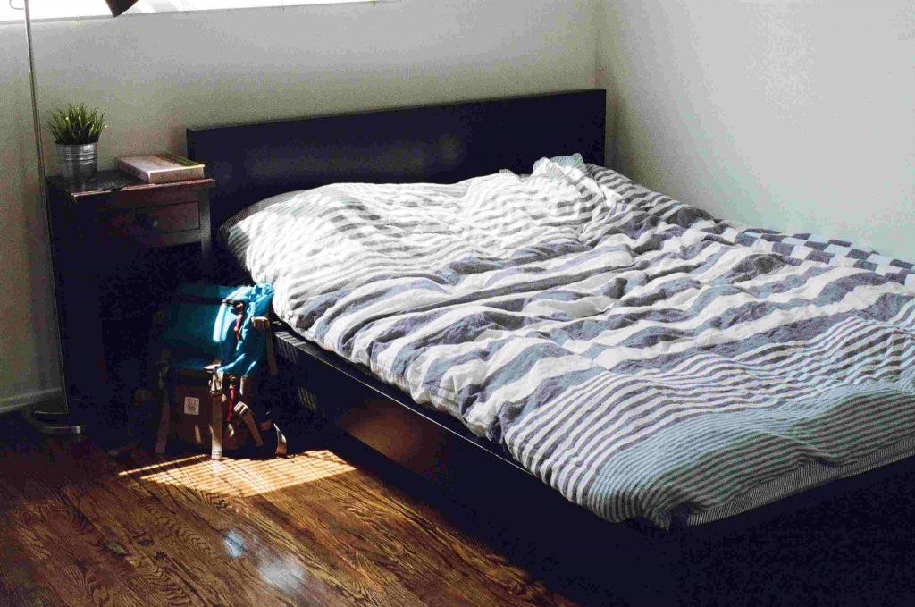 單人床, 單人床尺寸, 單人床褥
